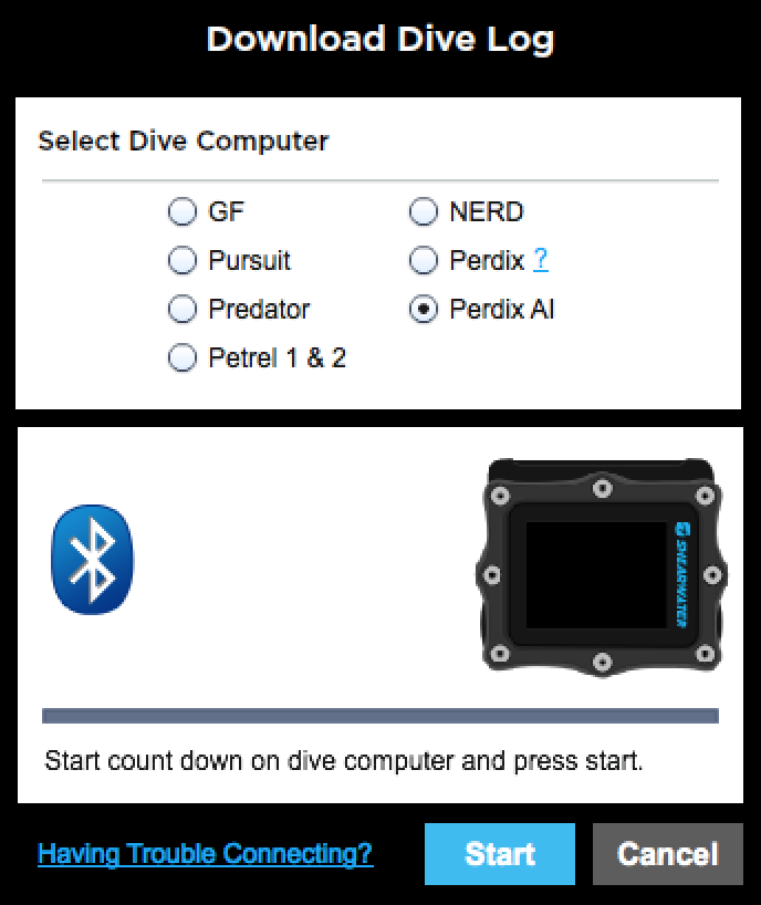 Bluetooth Quick Start - Shearwater Research