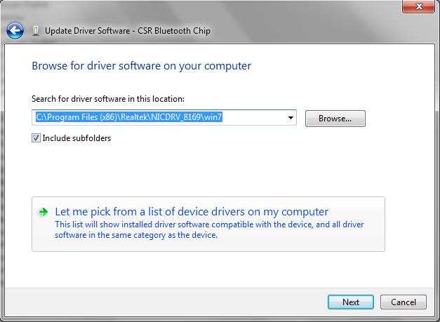Error 151 in Windows 7 - Shearwater Research