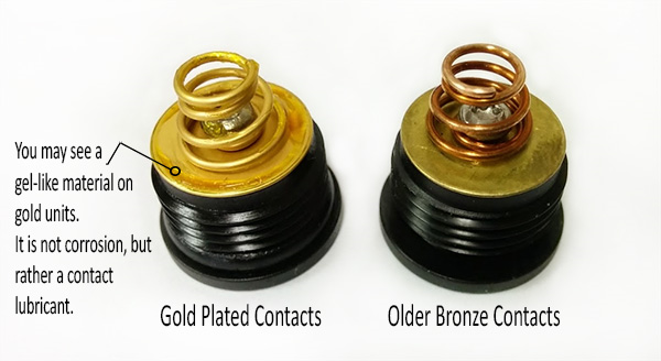 Gold Plated Contacts