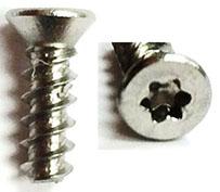 """Plastite Screw 48-2 Flat Head #4-20 x 3/8"""" Torx T8"""
