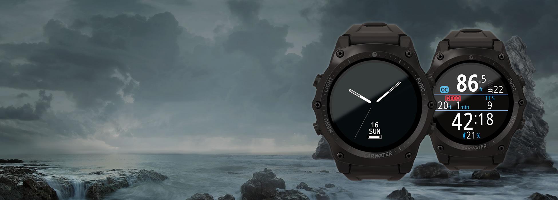 Shearwater Teric 潛水電腦錶 | 改變您對潛水的概念,輕鬆探索水下世界。 |  強大、簡單、可靠