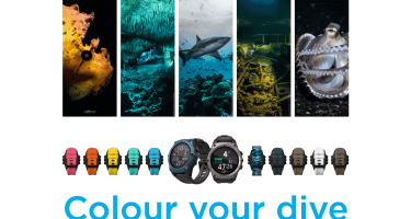 Colour Your Dive with New Teric Bezel and Wrist Strap Colours
